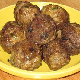 Moroccan Lamb Meatballs