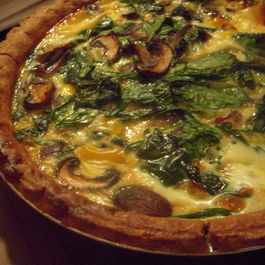 quiche and pies