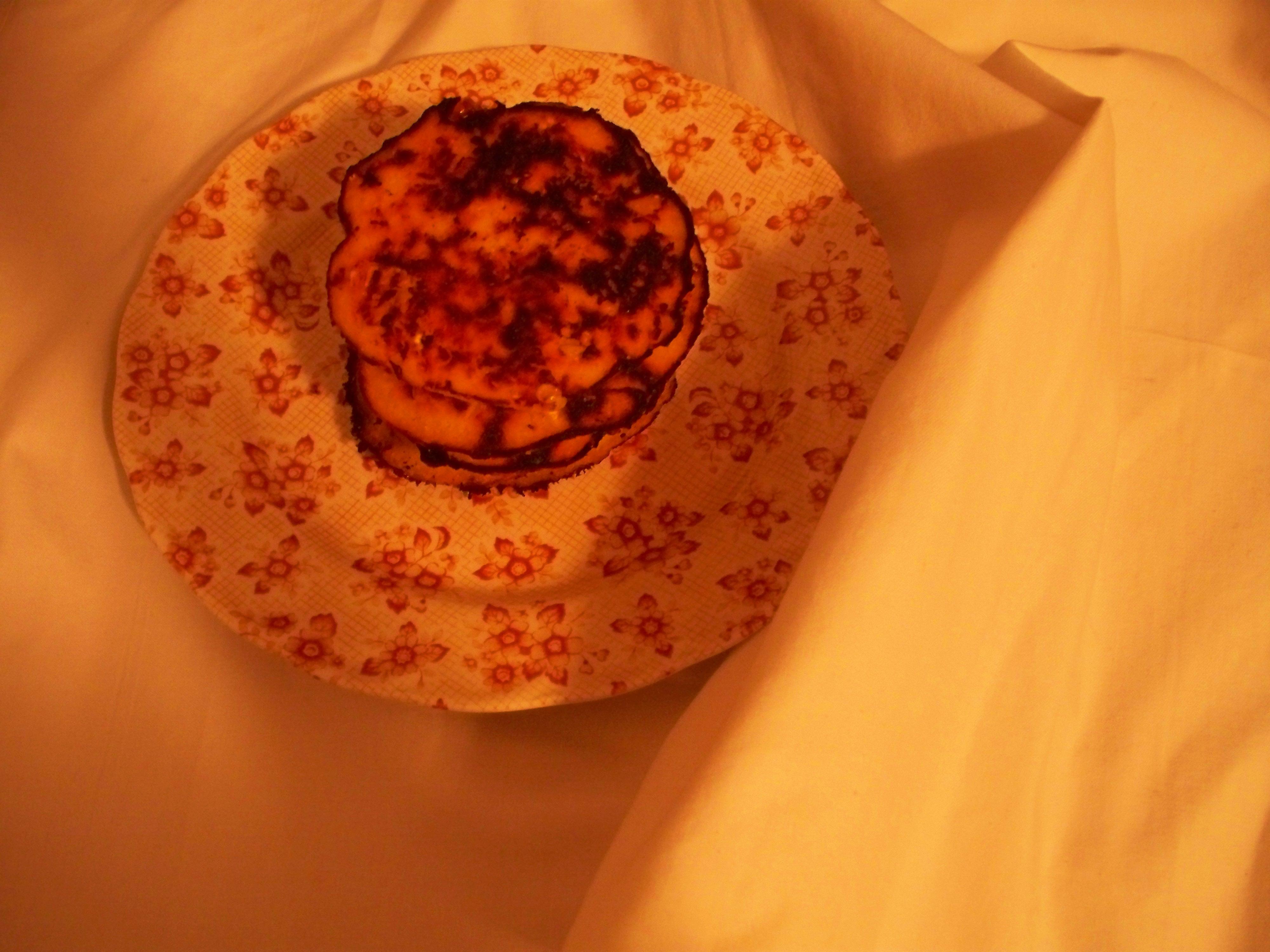 Sweet Corn Arepa Pancakes