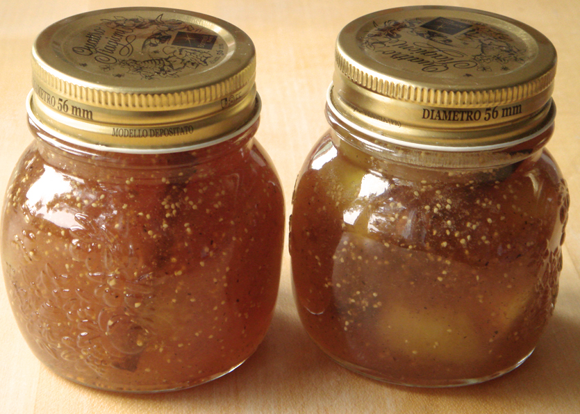 Fig Jam with Cinnamon, Vanilla and Grappa