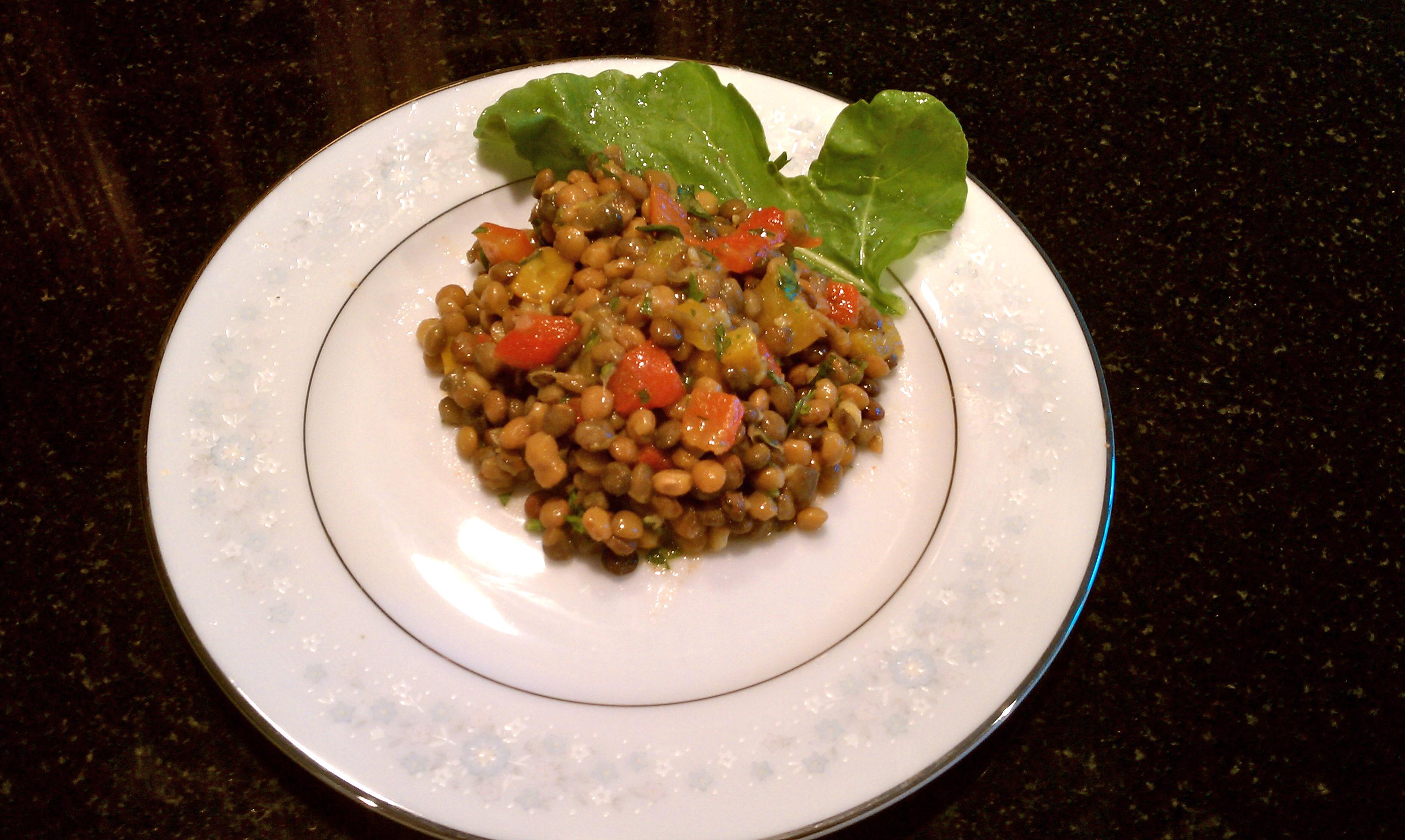 smoked lentil salad with smoked lentil salad w smoked lentil salad ...