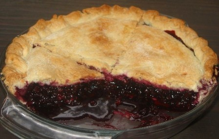 Himalayan Blackberry Pie