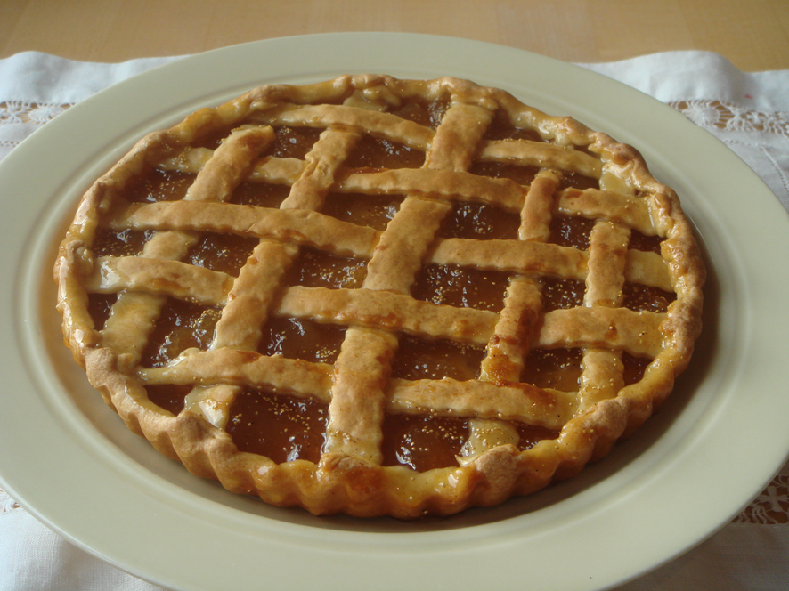 Crostata di Marmelatta di Fico - Fig Jam Italian Pie