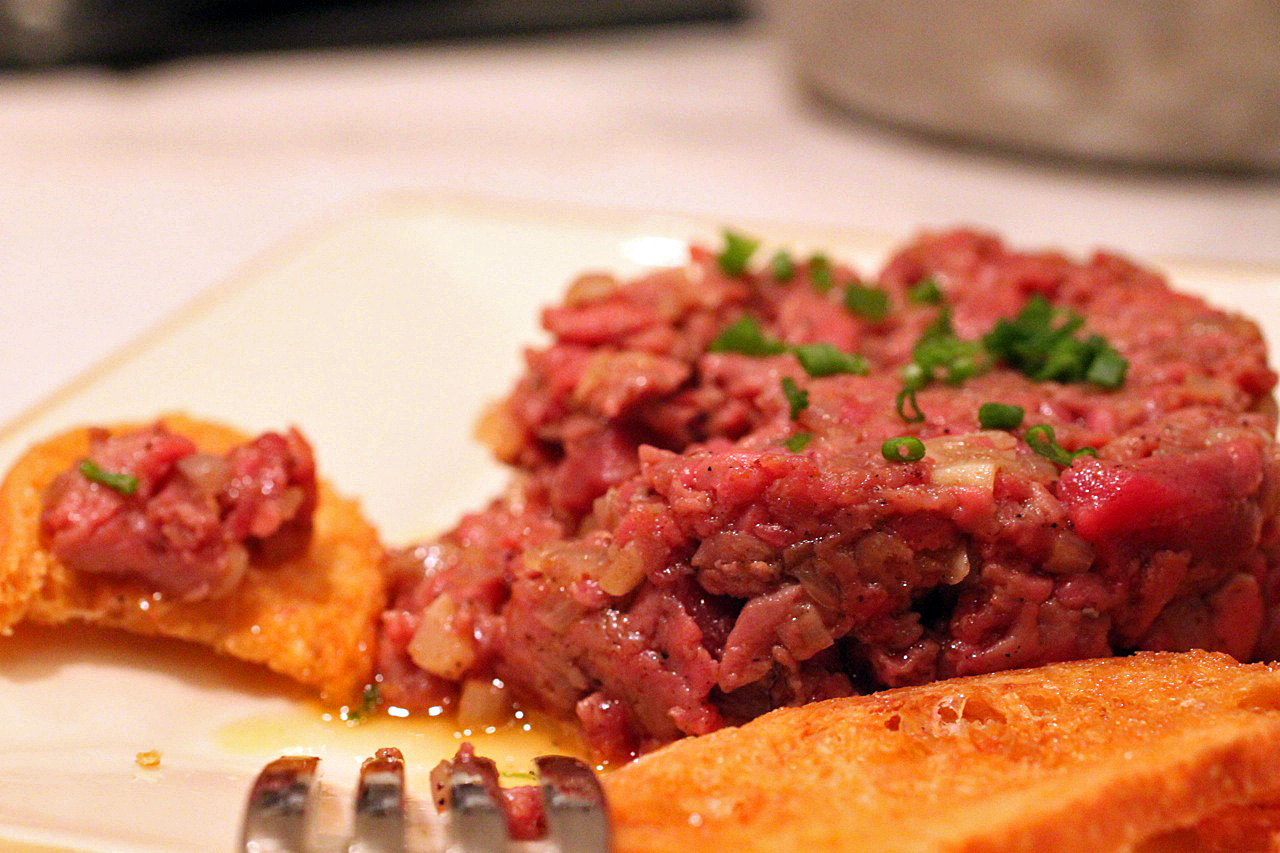 Warm Ethiopian Steak Tartare