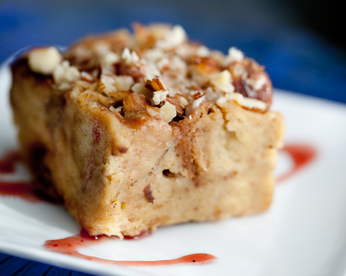 Banana Rum Challah Bread Pudding Recipe on Food52