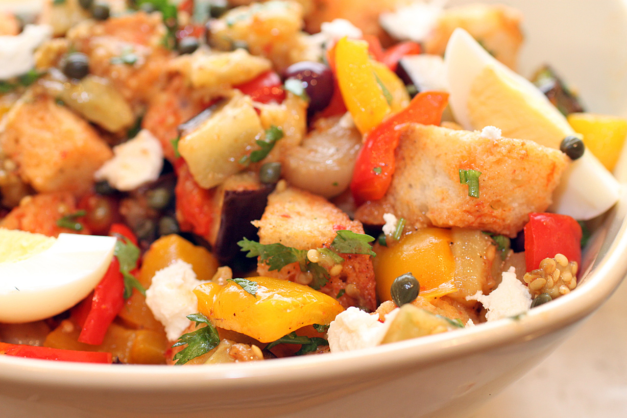 Tunisian Bread Salad