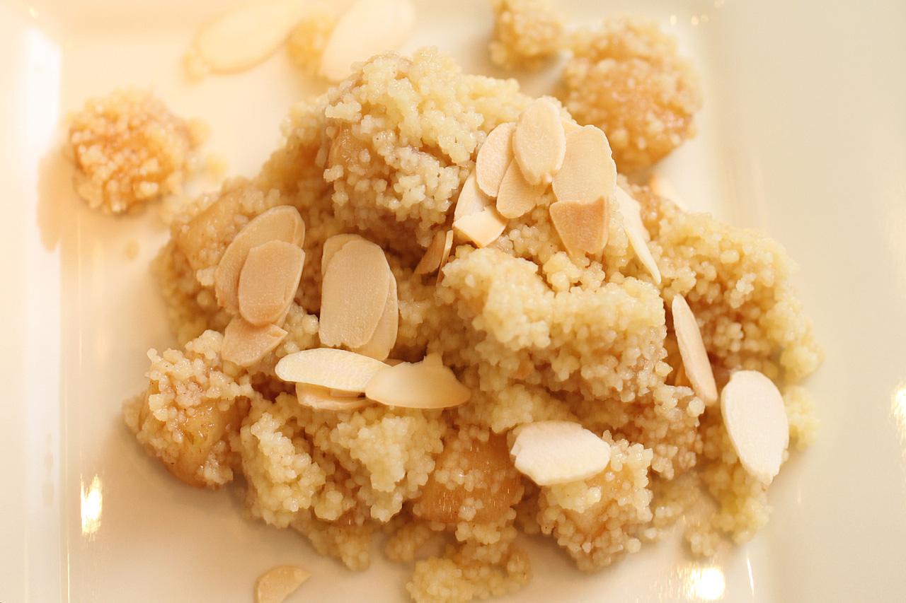 Sweet Apple Couscous