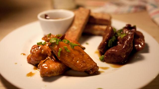 Crispy-Roasted Indonesian Peanut Wings