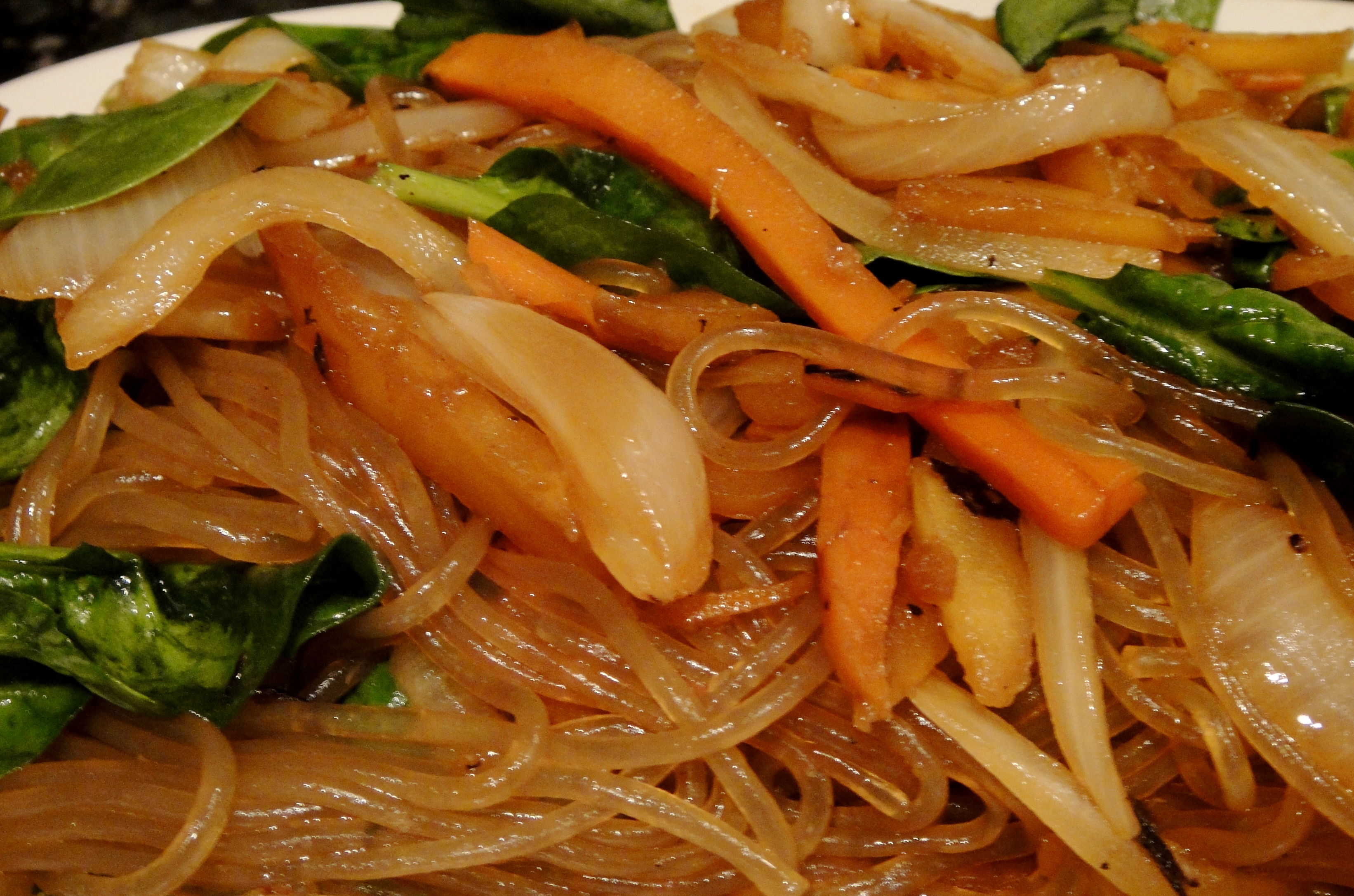 Chop Chae (Sweet Potato Noodle)