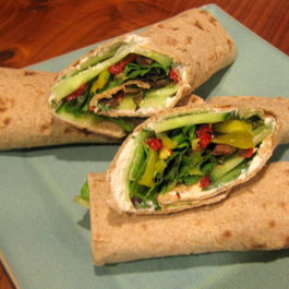 GREEK GARDEN LAVASH WRAPS