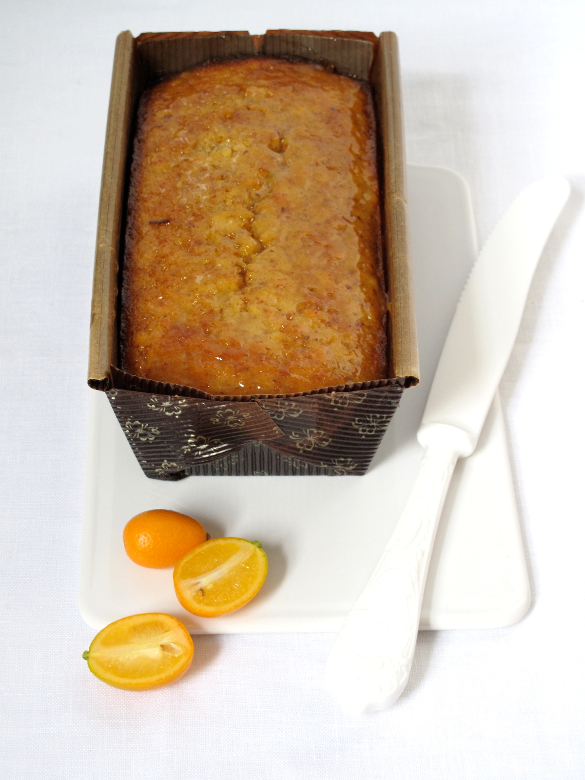 KUMQUAT + ALMOND TEA CAKE