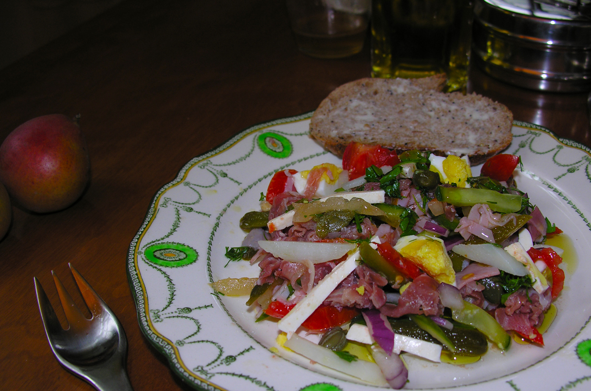 """PAPARAĆ-KVIETKA"" or Flower Fern Salad with some twists"