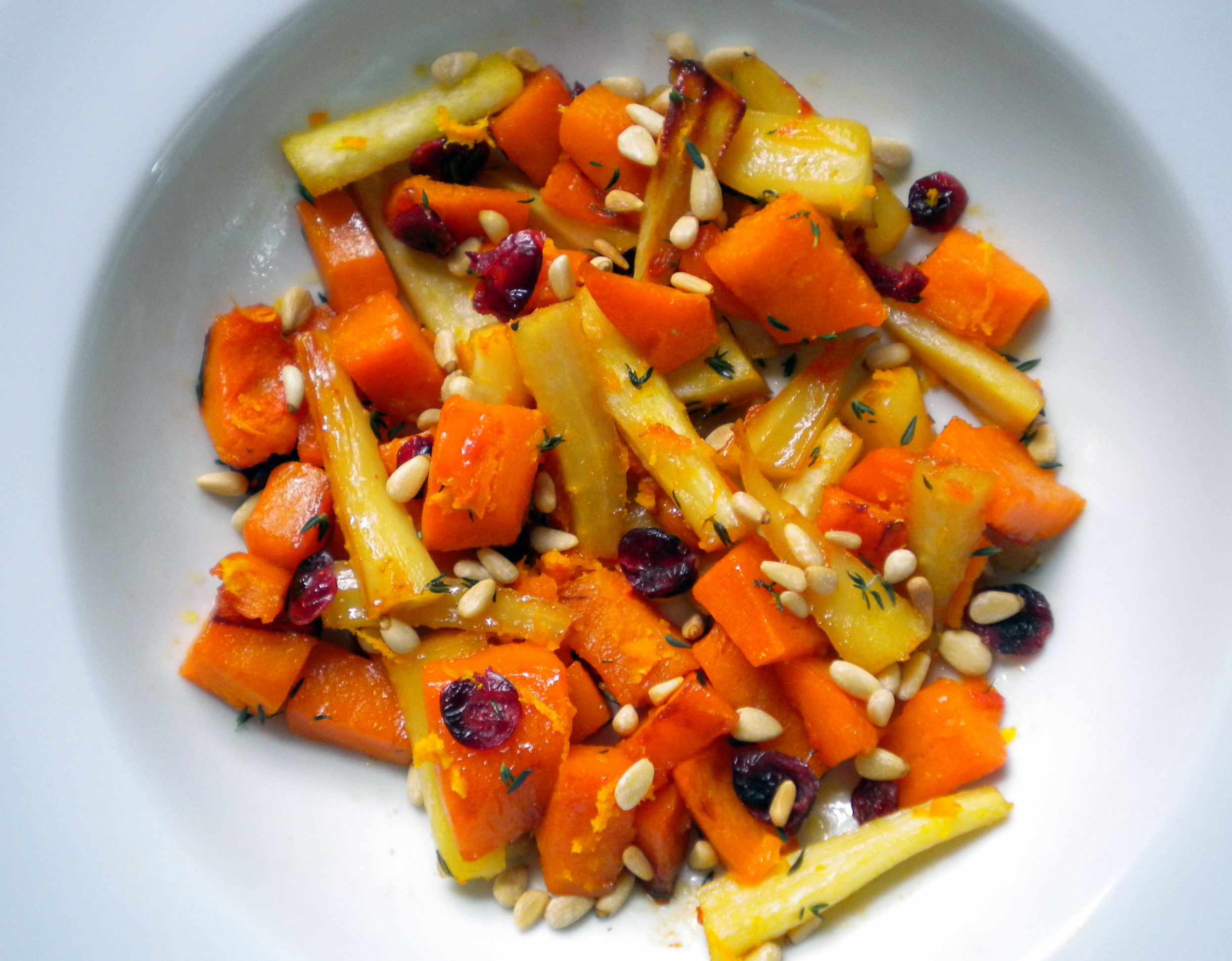 Rustic Root Vegetable Salad with Citrus and Thyme