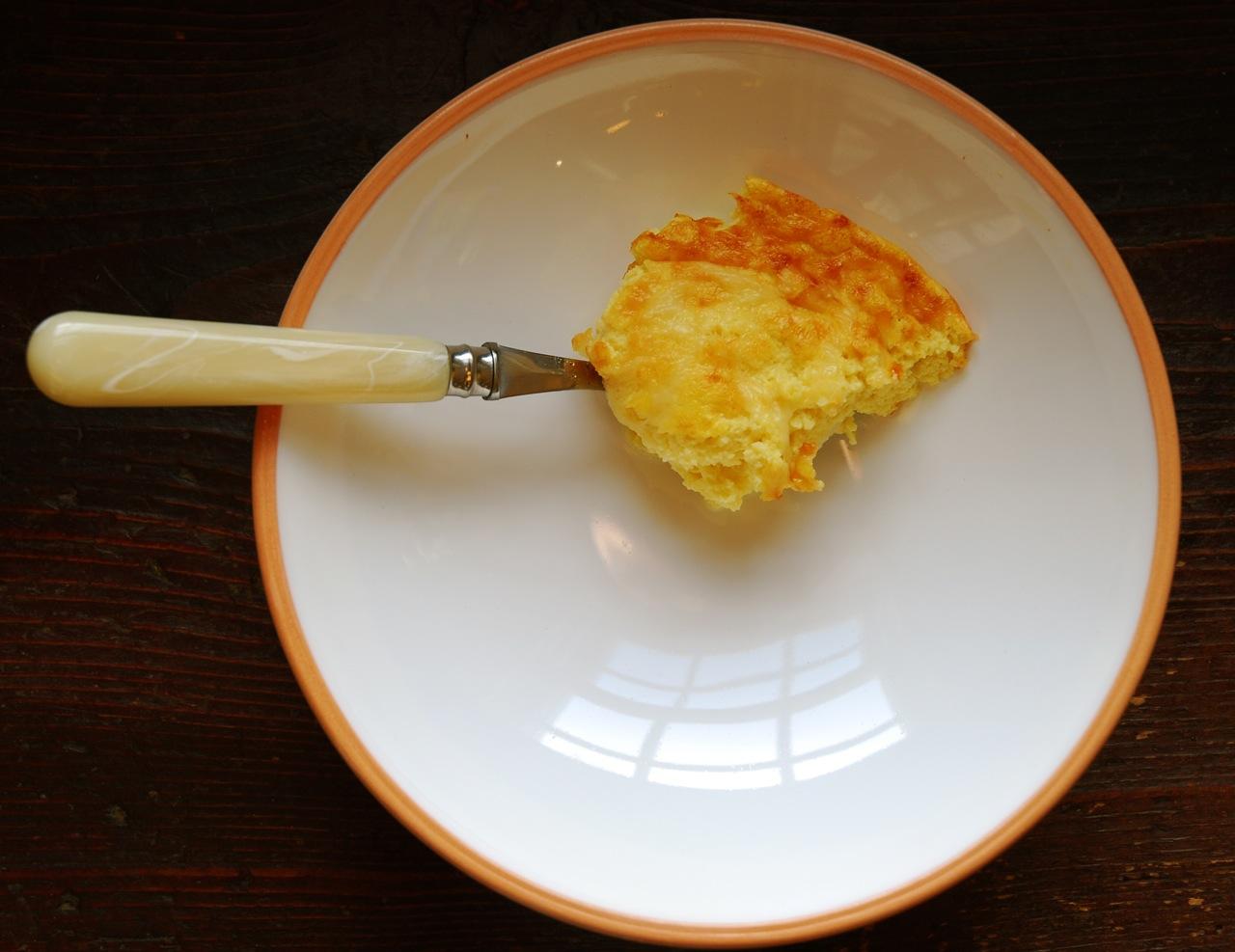 Cauliflower Spoon Eggs
