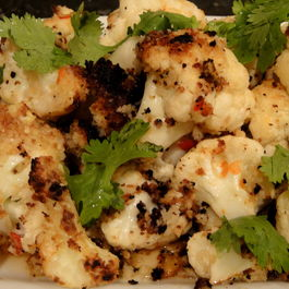 Cauliflower with Nam Pla Minnow