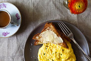 Poached Scrambled Eggs + Avocado Toast