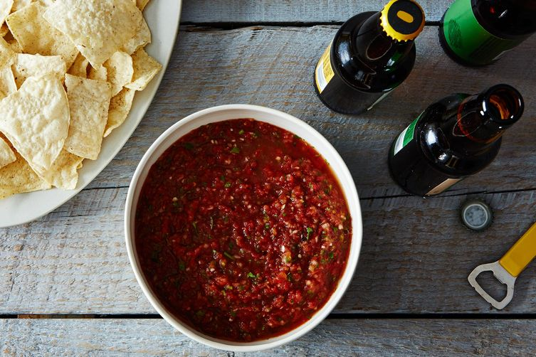 How to Make Salsa without a Recipe