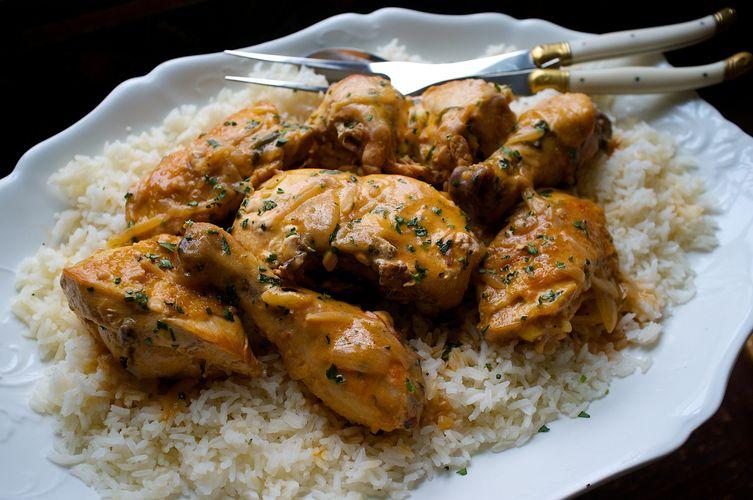 Poulet à l' Estragon (Tarragon Chicken)