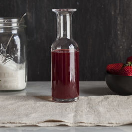 How to Make Strawberry Syrup From Scratch