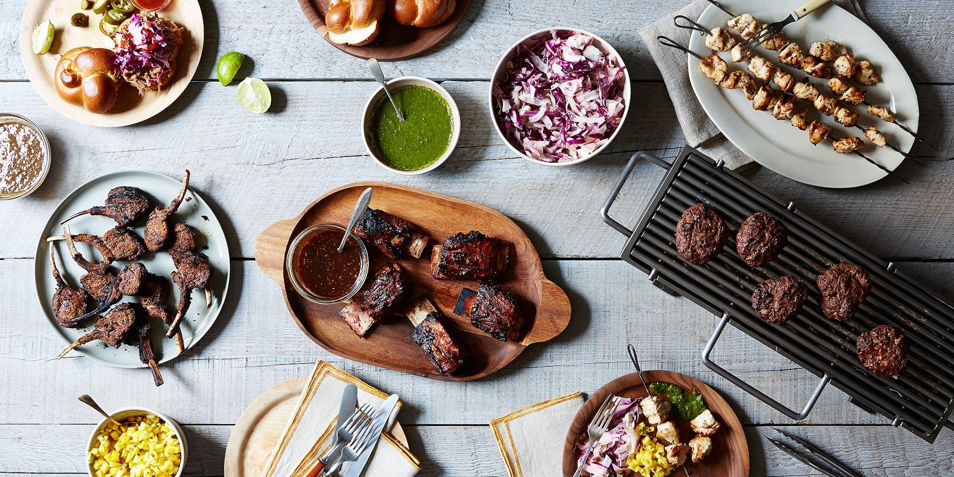 Summer Entertaining An Upscale Backyard Barbecue