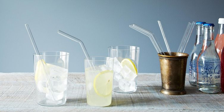 6 Drinks for Glass Straws