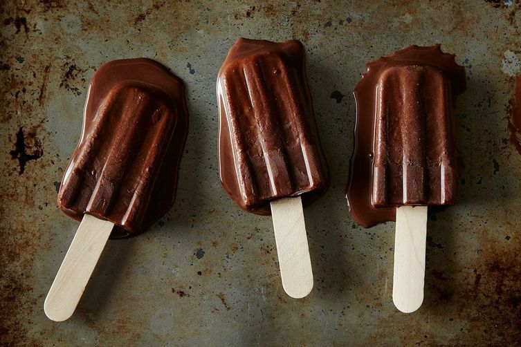DIY Fudgesicles