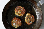 Forming and Frying Zucchini Pancakes