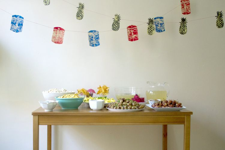 5 DIYs for the Perfect Tiki Party