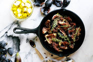 Baked Figs With Balsamic and Feta