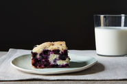 Warm Kimchi Bowl + Blueberry Lemon Cake