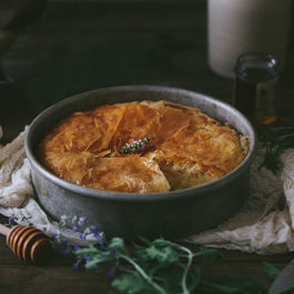 Honeyed Greek Filo Custard