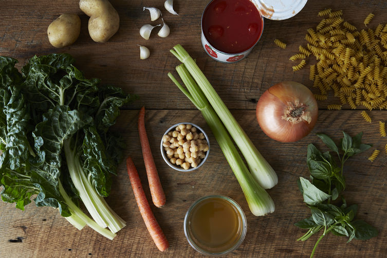 How to Make Minestrone Soup Without a Recipe