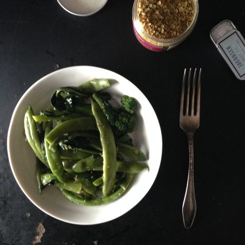 How to Turn Blanched Vegetables into Lunch