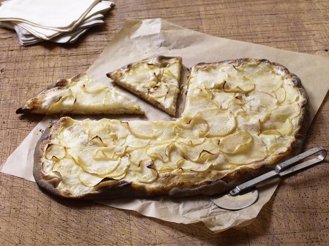 Dorie Greenspan's Apple Tarte Flambée