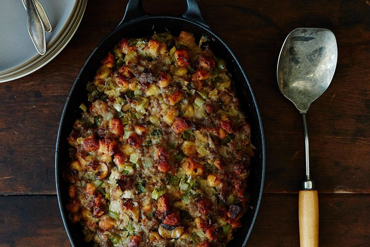 How to Make Homemade Sausage + A Family Recipe for Stuffing