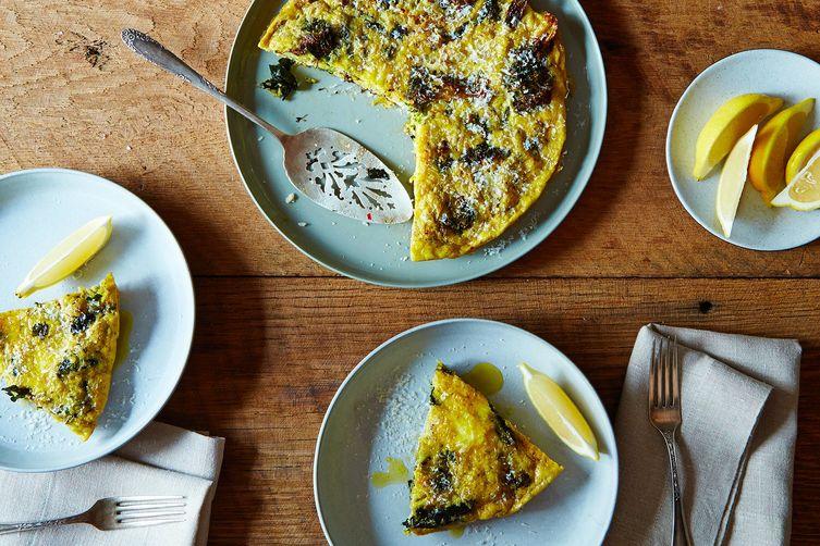 Andrew Feinberg's Slow-Baked Broccoli Frittata