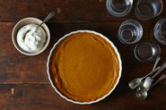 No-Pie Pumpkin Pie