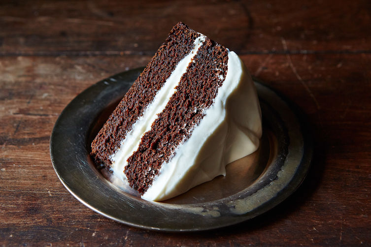 The Deepest, Darkest Gingerbread Cake