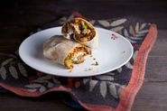Thanksgiving Leftovers:  Breakfast Burrito Edition