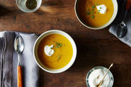 Thomas Keller's Butternut Squash Soup with Brown Butter
