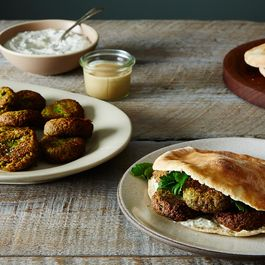 Herby Falafel: Fried, Green, and Ready by Dinner
