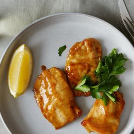 Pantry Lemon Chicken for Two