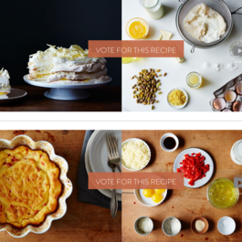 Finalists: Your Best Recipe with Egg Whites