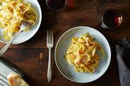James Beard's Braised Onion Pasta