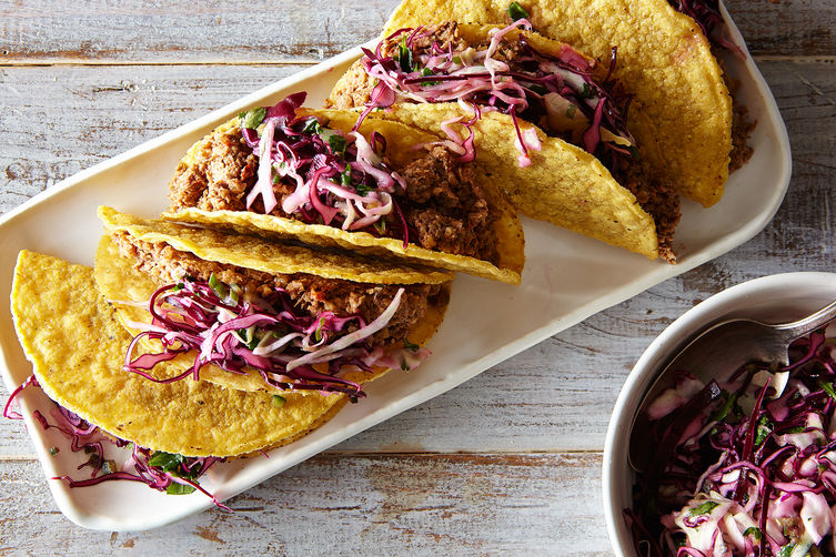 Vegan Lentil Walnut Tacos for Game Day (and Every Day After That)