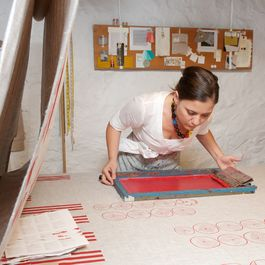 Meet Celina Mancurti, Maker of Our Favorite Table Linens
