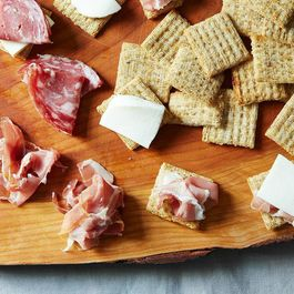 How to Eat Cheese & Crackers for Lunch