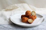 Deep-Fried Stuffed Olives (Olive all'Ascolana)