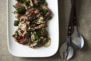 Spicy Thai Steak Salad + Sesame and Coconut Sugar Cookies