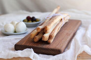 Hand-Pulled Breadsticks (Grissini Stirati)
